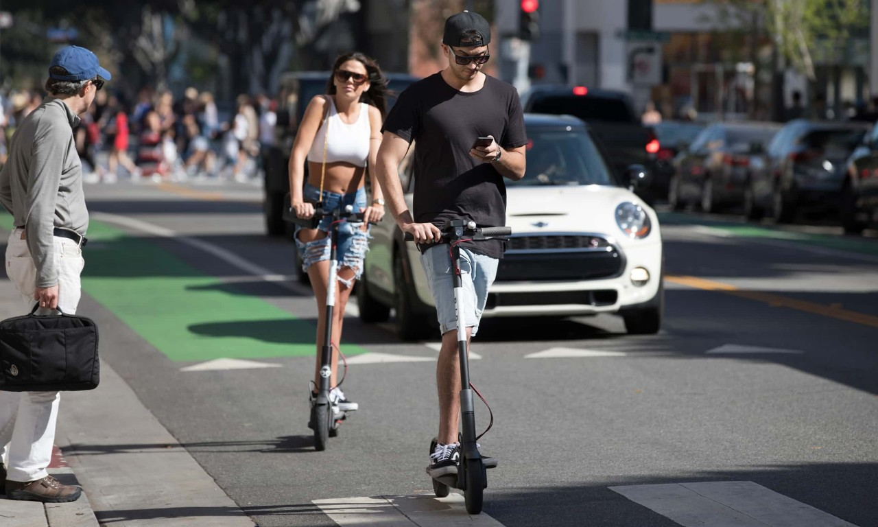 Are electric scooters the next mega-extinction event on Earth?